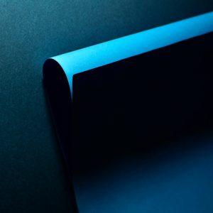 Paper-art-photo-blueblack-curved-surface