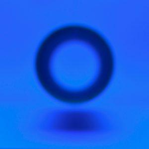 Paper-tube-art-photo-blue-circle