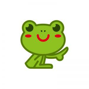 カエル薬局キャラクター